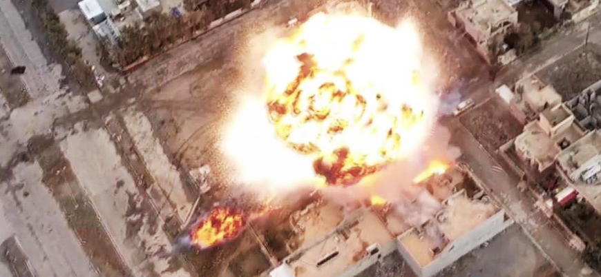 Rakka'da PKK'ya bombalı araçla saldırı…