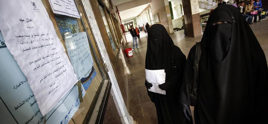 Mısır kamusal alanda peçeyi yasaklamaya hazırlanıyor
