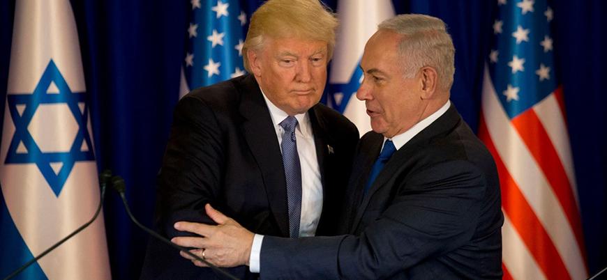 Netanyahu'dan Trump'a 'yaptırım' teşekkürü