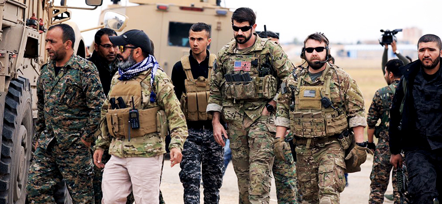 ABD: YPG'li ortaklarımızla 'güvence devriyelerine' başladık