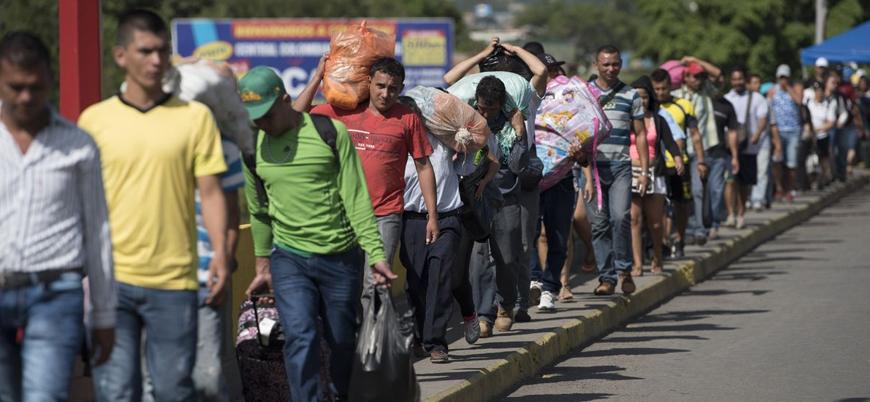 Venezuela'yı terk edenlerin sayısı 3 milyonu aştı