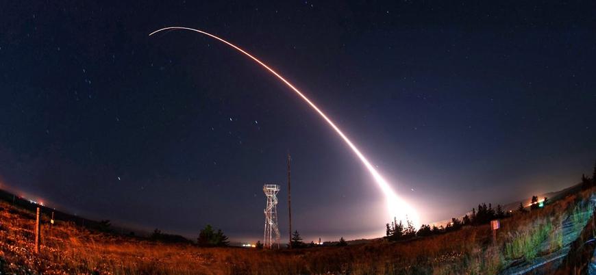 ABD kıtalar arası balistik füze denemesi yaptı