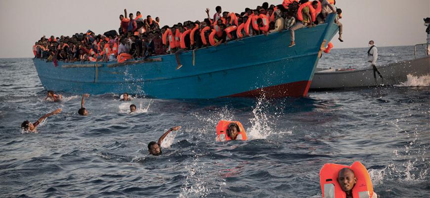 BM: En az 2 bin göçmen Akdeniz'de boğularak öldü