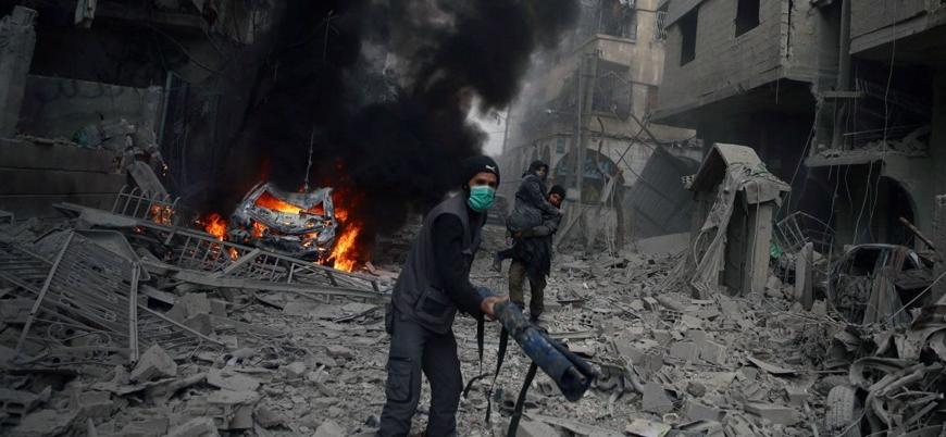 Esed rejimi Deyr ez Zor'da katliam yaptı: Çoğu kadın ve çocuk 30 sivil öldü