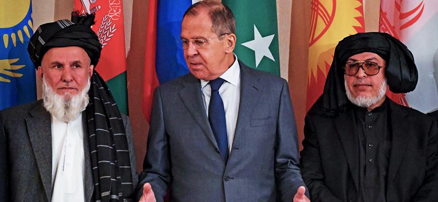 Lavrov: Taliban yönetiminin Moskova'ya gelmesini umuyoruz