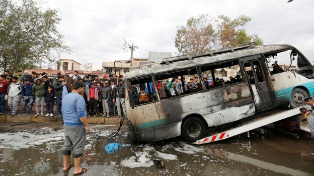 Irak durulmuyor: Bağdat'ta bir günde 3 bombalı araç saldırısı