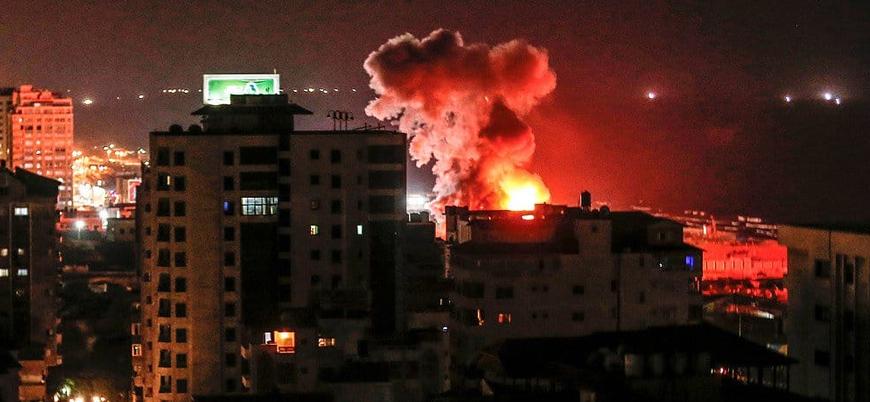 İsrail Hamas'a ait kontrol noktasını vurdu