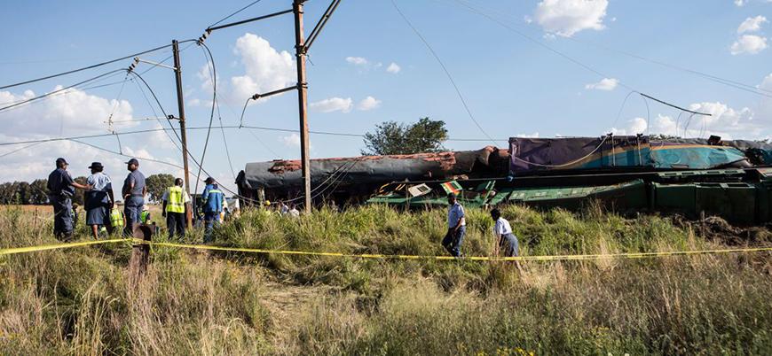 Kongo'daki tren kazasında 40 kişi hayatını kaybetti