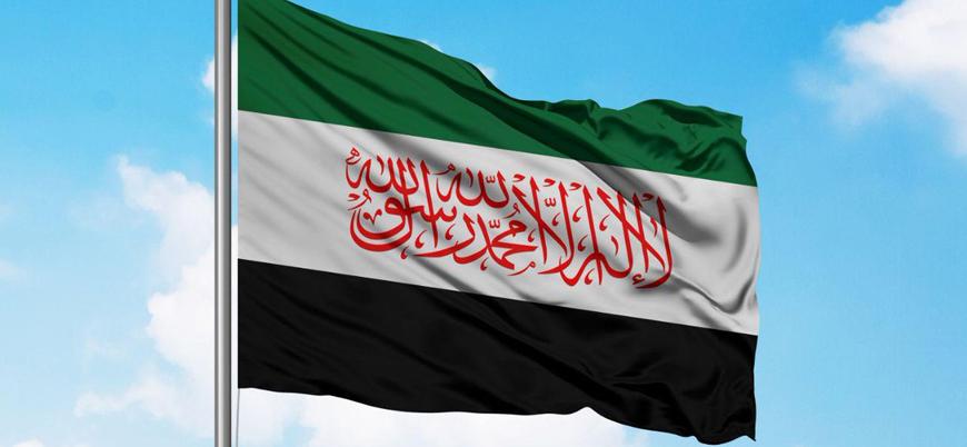 Suriye'de muhaliflerden yeni bayrak kararı