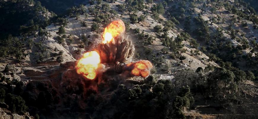 ABD Afganistan'a en fazla bombayı 2018 yılında attı