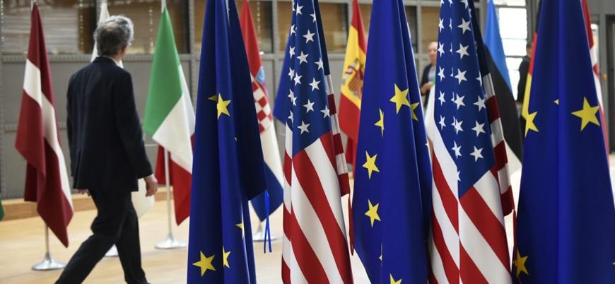 ABD İran'la ticarette Avrupa Birliği'ni uyardı