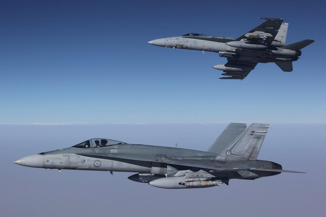 Pentagon: El Bab'da destek uçuşu gerçekleştirdik