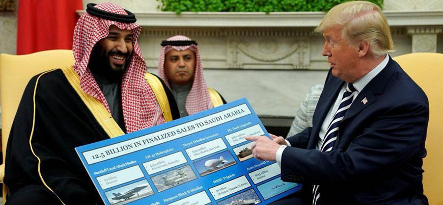 ABD'den Suudilere silah satışını durduran yasa tasarısı