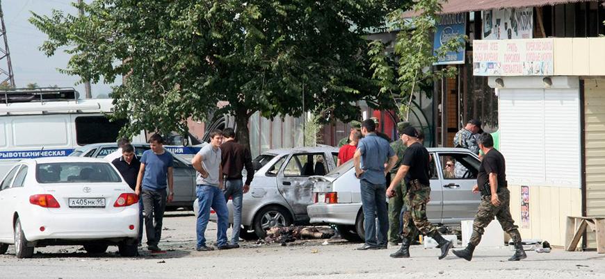 Çeçenistan'da bombalı saldırı