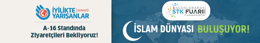 İslam dünyası STK'ları fuarda buluşuyor