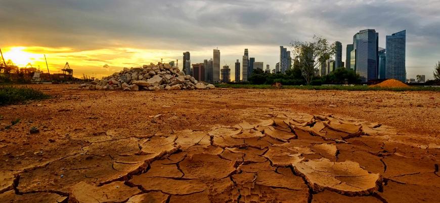 """""""Küresel ısınma iddiası Marksist komplosu"""""""