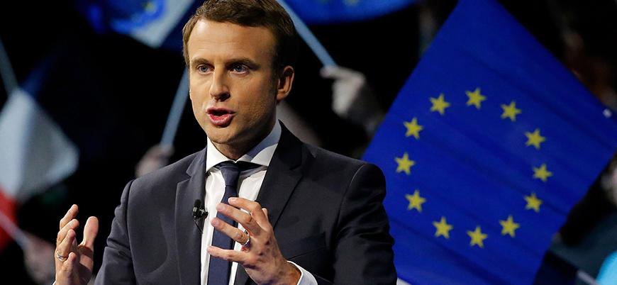 Macron: İdlib konusunda Rusya ile aynı fikirde değiliz
