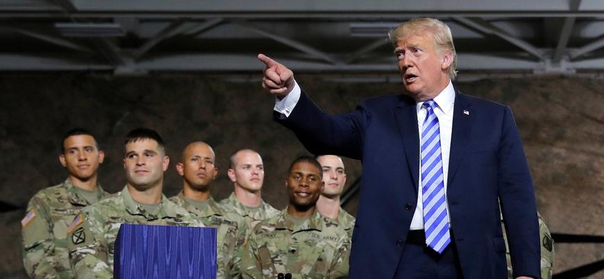 Trump: Irak savaşı muazzam bir hataydı