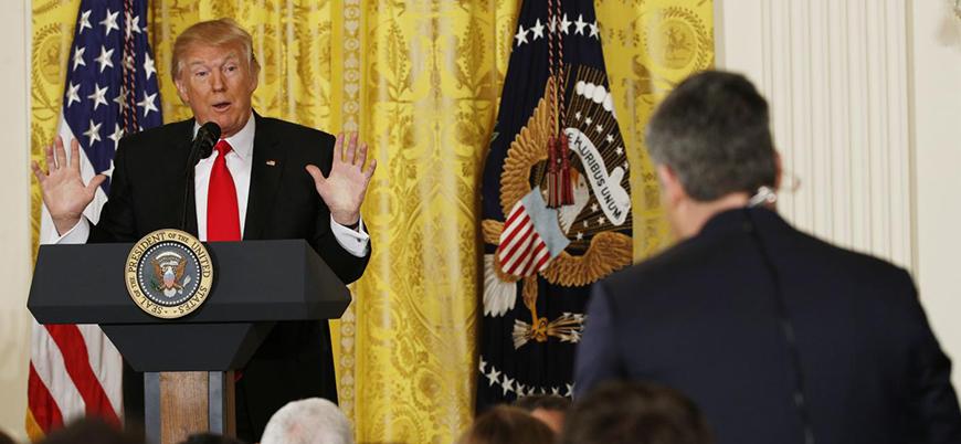 Trump-CNN krizinde yeni gelişme: Gazetecinin giriş kartı iade edildi