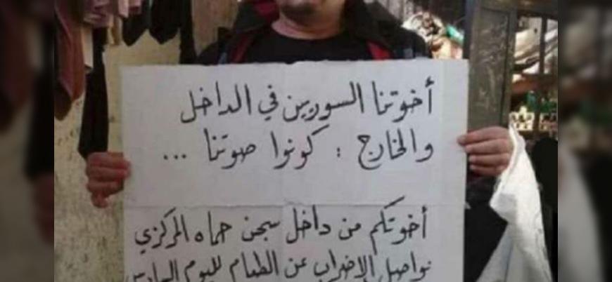 Suriye'de mahkumlar idamların engellenmesi için açlık grevinde