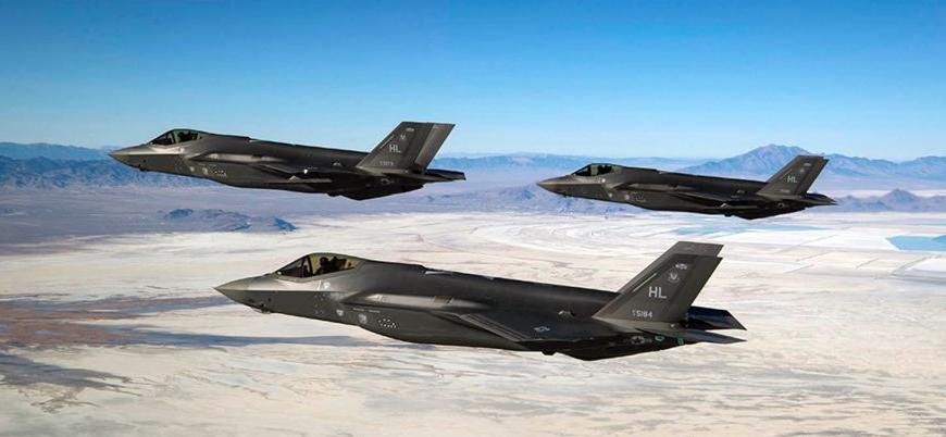 ABD'den F-35'li gövde gösterisi