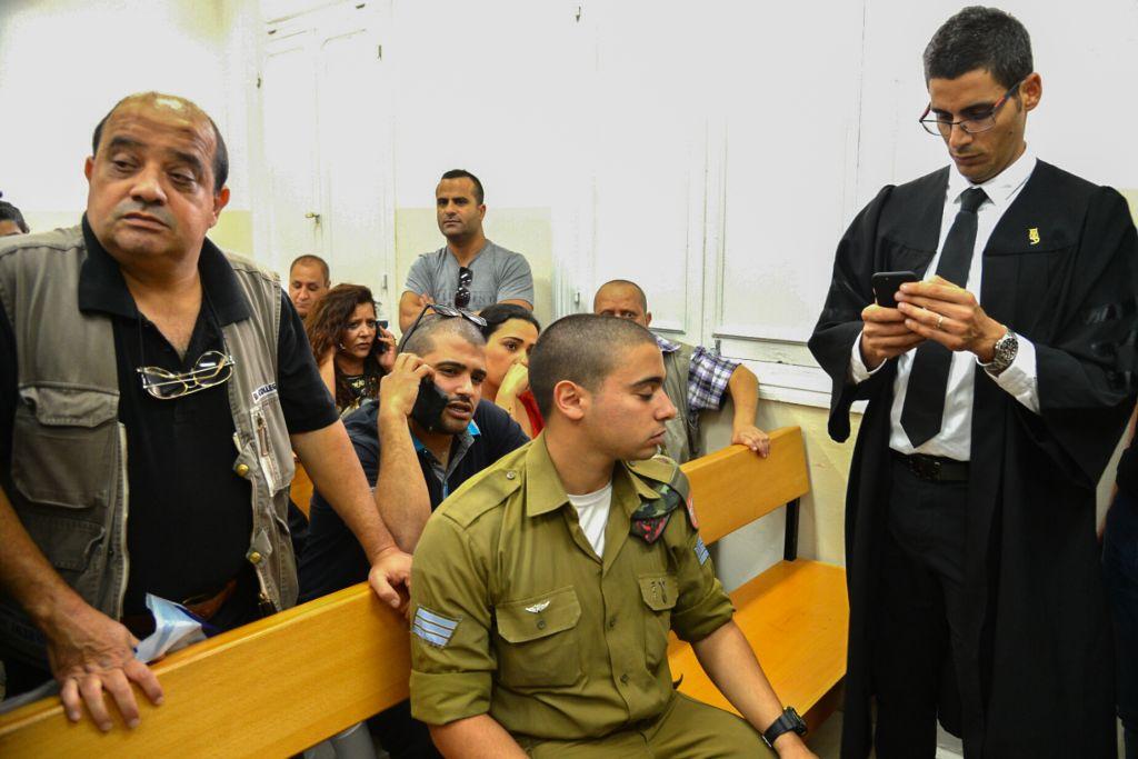Yaralı Filistinli'yi öldüren İsrailli asker suçlu bulundu