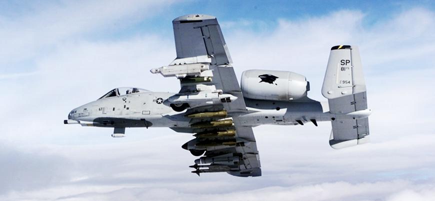 ABD'nin Suriye'de YPG/PKK'ya sağladığı hava desteği