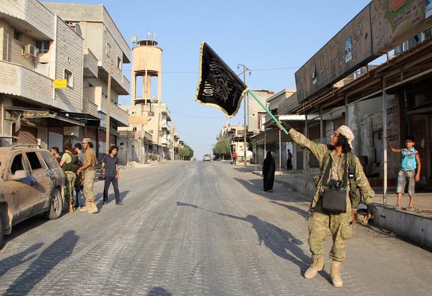 ABD uçakları Şam'ın Fethi Cephesi'ni hedef aldı