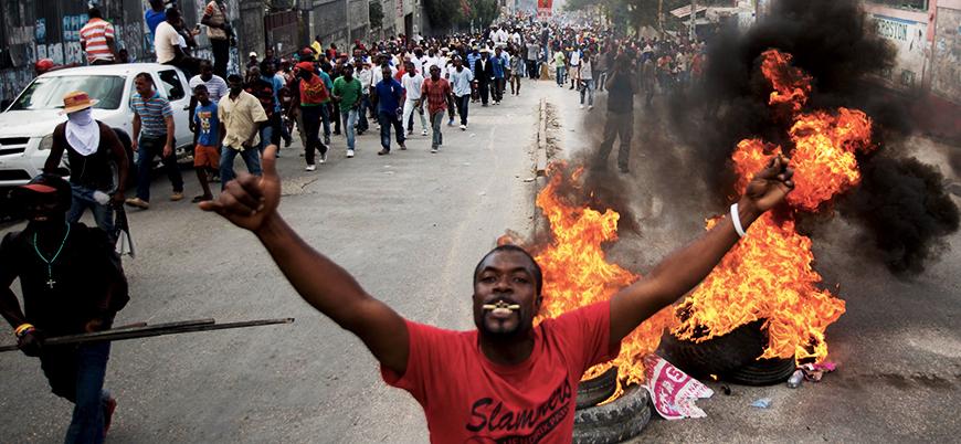 Haiti'de göstericilerle polis arasında çatışma: 9 ölü