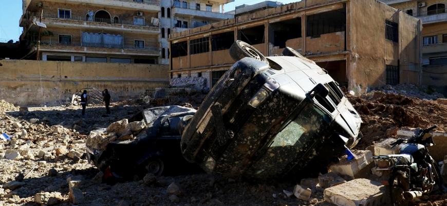 İdlib'de rejim saldırısı: 3'ü çocuk 5 sivil öldü