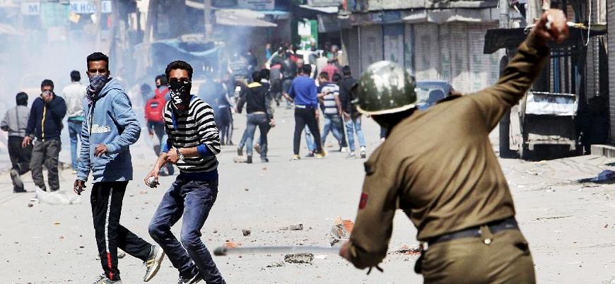Keşmir'de direnişçiler ile güvenlik güçleri çatıştı: 7 ölü