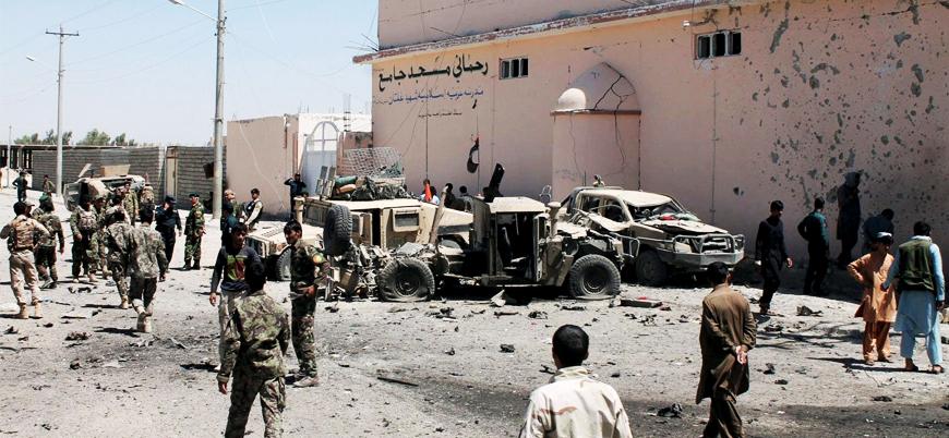 Afganistan'da Taliban'dan polis konvoyuna pusu: En az 20 ölü
