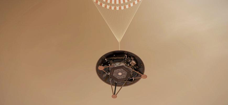 InSight uzay aracı Mars'a iniş yaptı