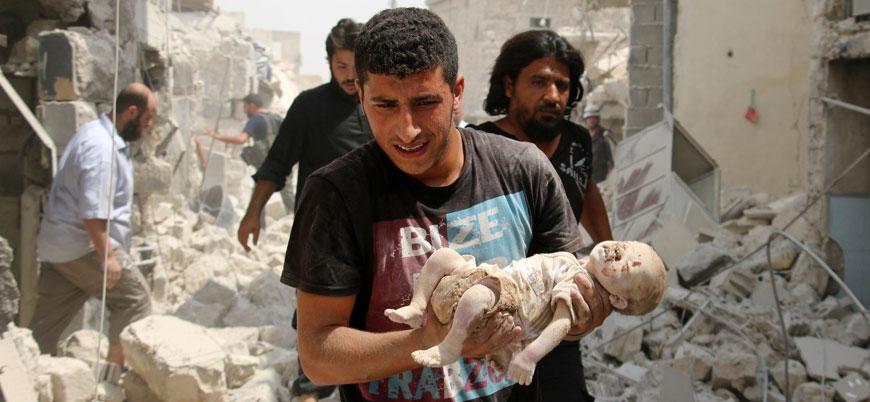 Suriye'de savaşın kaybedeni çocuklar