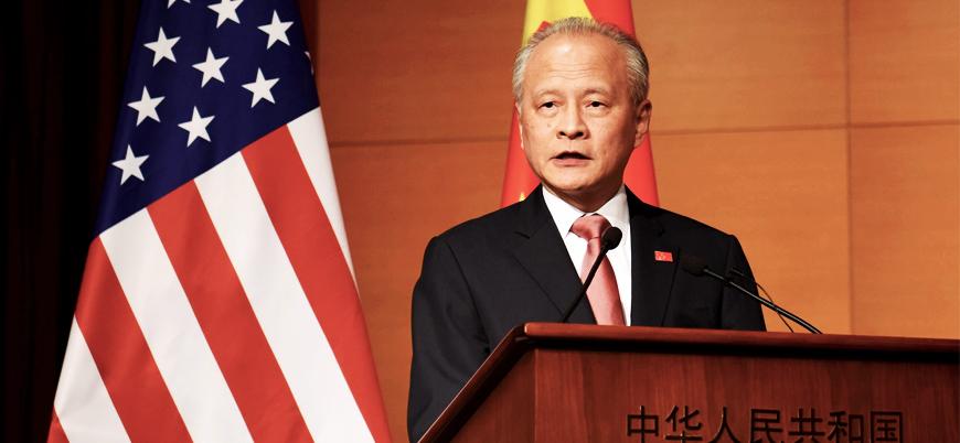 """""""Çin ABD'nin Uygur yaptırımına sessiz kalmayacak"""""""