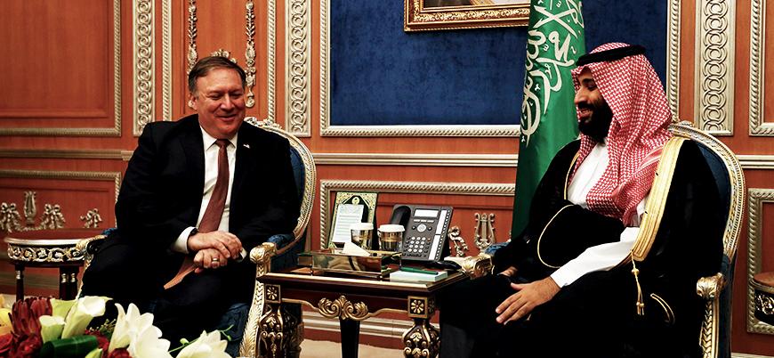 Pompeo: Suudi Arabistan İsrail'i tanımak için ABD'ye şart koştu