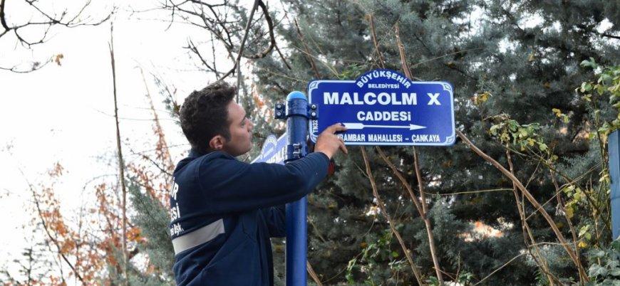 ABD'nin yeni Büyükelçiliği'nin caddesine 'Malcolm X' ismi verildi