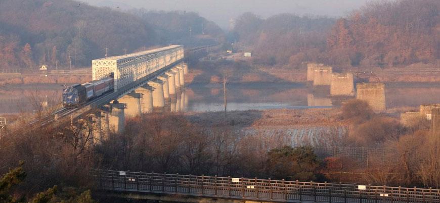 Güney ile Kuzey Kore demir yolları birbirine bağlanıyor