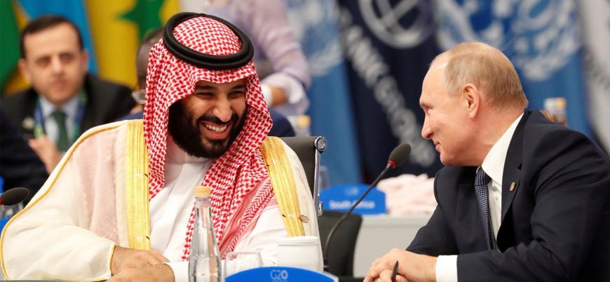 Muhammed bin Selman ile Putin'den G-20 zirvesinde 'samimi pozlar'