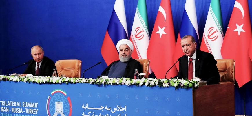 Putin: Rusya, Türkiye ve İran Suriye'de yeni anayasa için çalışıyor