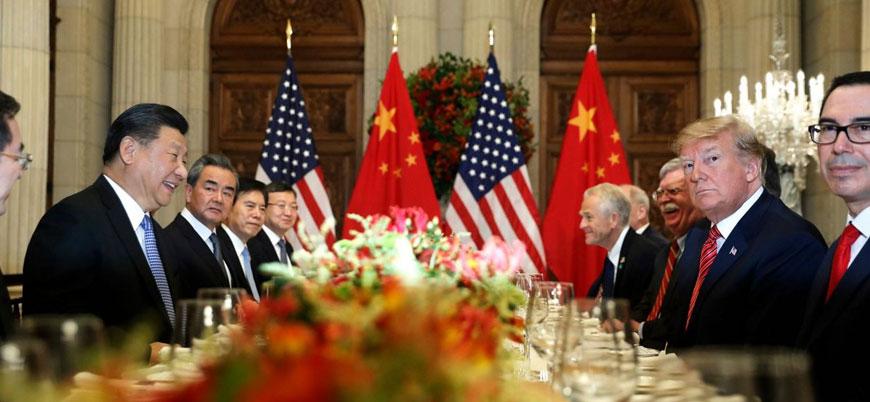 ABD ve Çin 'ticaret savaşı'na ara verdi