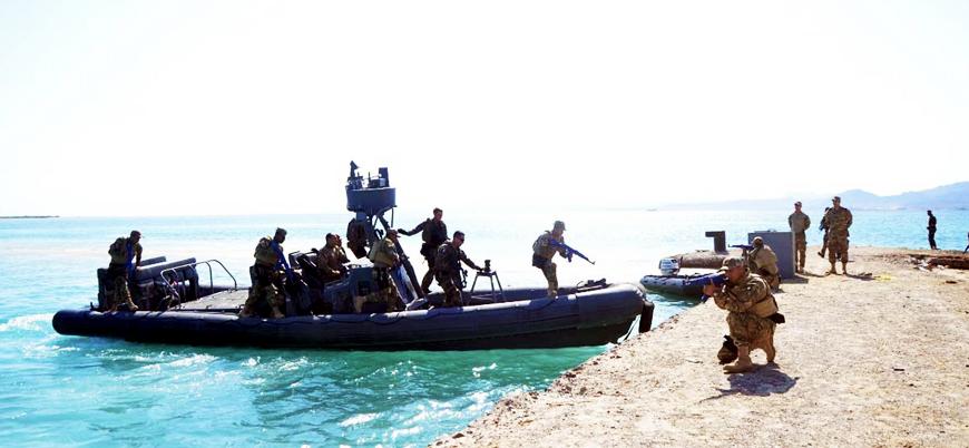 Mısır ve Fransa'dan ortak deniz kuvvetleri tatbikatı