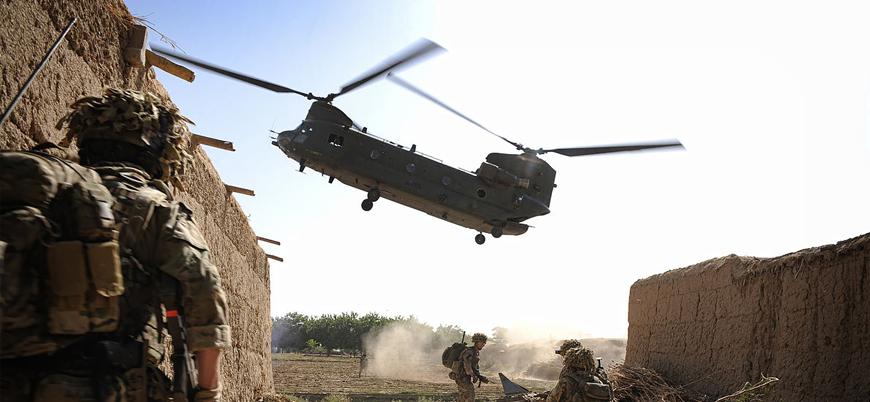 """""""Afganistan'da ABD güçlerini taşıyan helikopter düştü"""""""