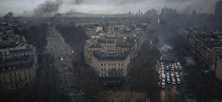 Fransa'dan Sarı Yelekliler protestolarını engelleyen yasa tasarısı