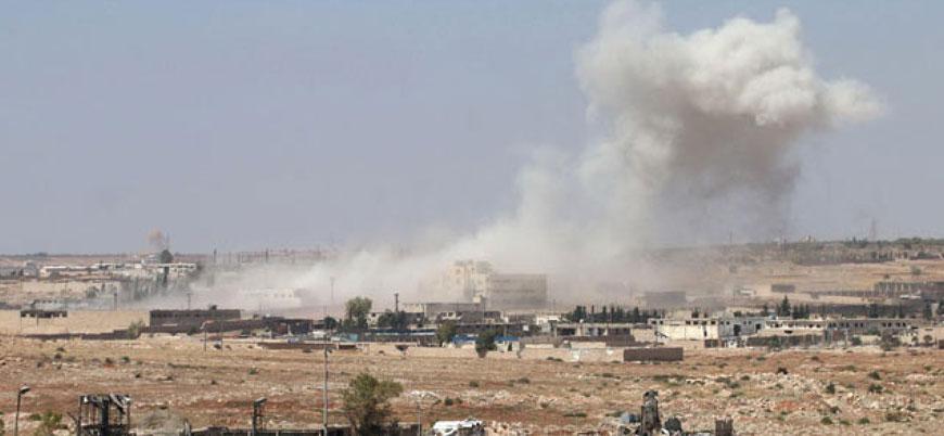 Esed rejimi ateşkes bölgelerinde sivillere saldırmaya devam ediyor