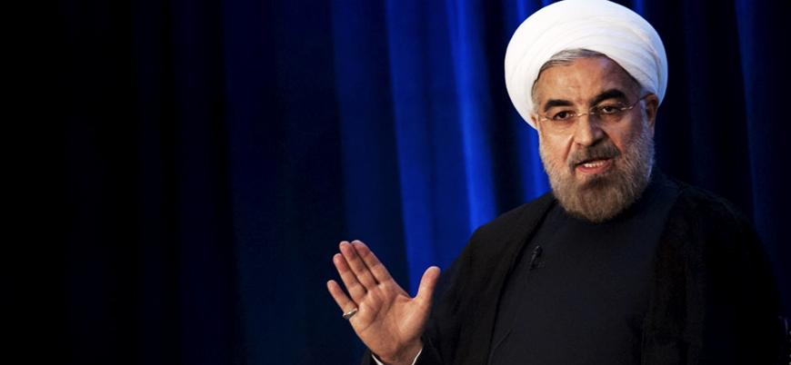 Ruhani: İran petrol ihraç edemezse Körfez'deki hiçbir ülke petrol ihraç edemez