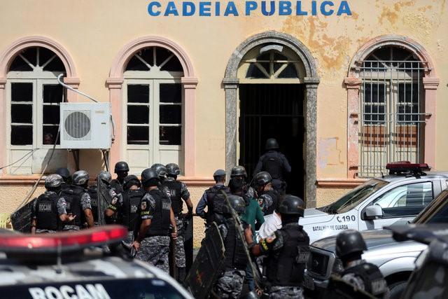 Brezilya hapishanesinde ayaklanma: 33 ölü