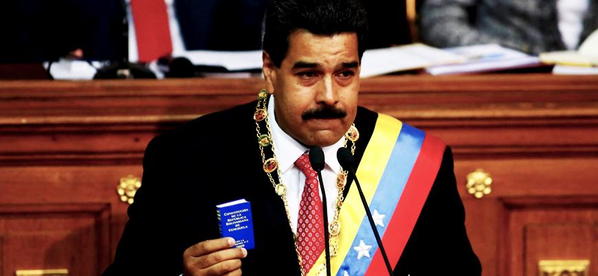 Maduro: ABD ülkemizde darbe yapmak istiyor