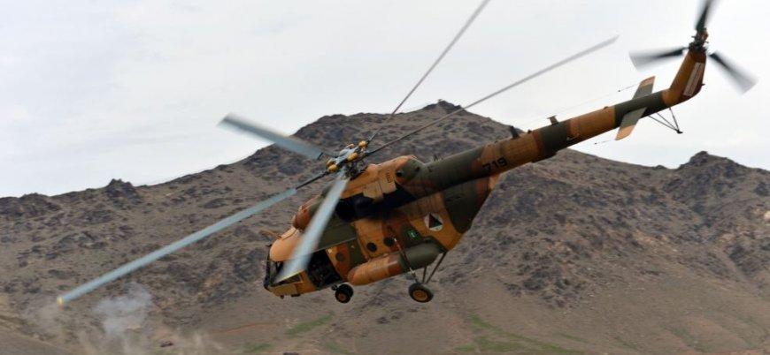 Afganistan'ın Kandahar ilinde helikopter düştü