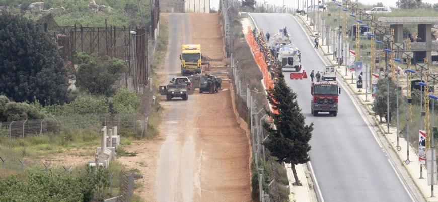 Lübnan ile İsrail arasında sınır gerilimi
